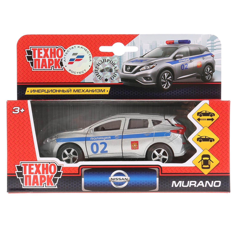 Машинка Технопарк Машина Nissan Murano Полиция, 258221 машинки технопарк машина технопарк зил 130 полиция