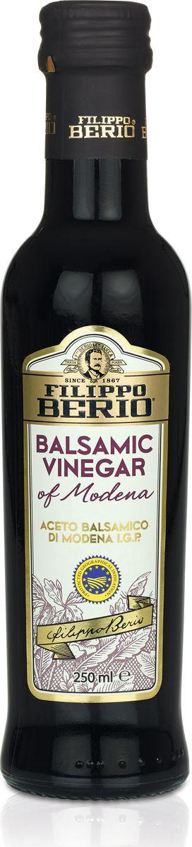 Уксус Filippo Berio, бальзамический, 6%, 250 мл santolino бальзамический крем из модены 250 мл