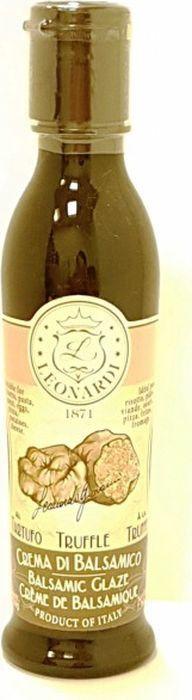 Бальзамический крем Leonardi С Трюфелем, 220 г бальзамический крем leonardi с апельсином 210 мл