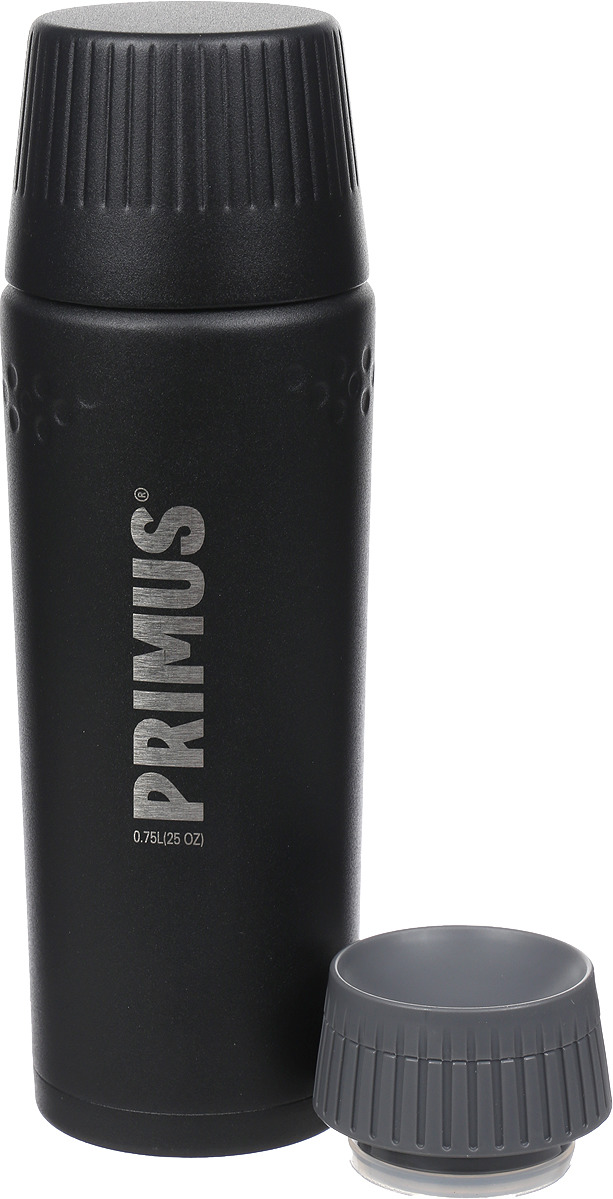 Термос Primus TrailBreak Vacuum Bottle, цвет: черный, 750 мл