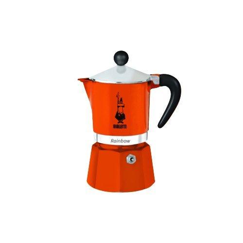Кофеварка гейзерная Bialetti Rainbow, красный, на 3 чашки 4963 кофеварка гейзерная bialetti moka induzione 3 порции сталь 4922