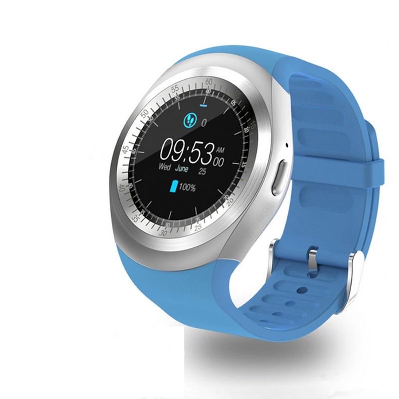 Умные часы ZDK Zodikam Y1 blue умные часы ginzzu® gz 701 black 50м android ios bluetooth мониторинг сна калорий физ активности