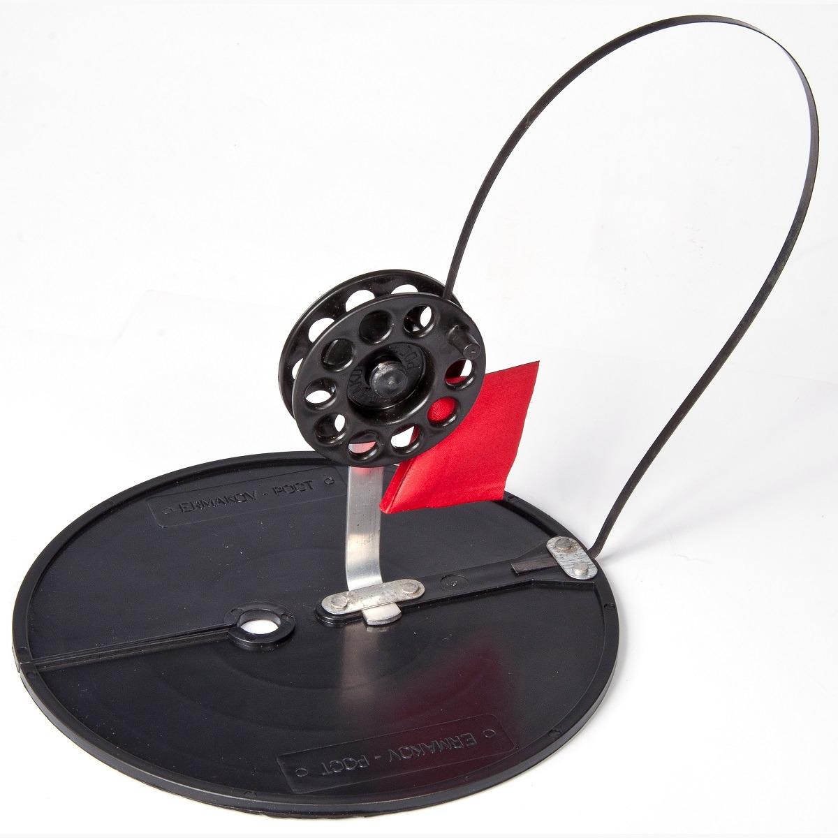 Жерлица Рост, 6-02-0058, на кругу, 200 мм, диаметр катушки 63 мм