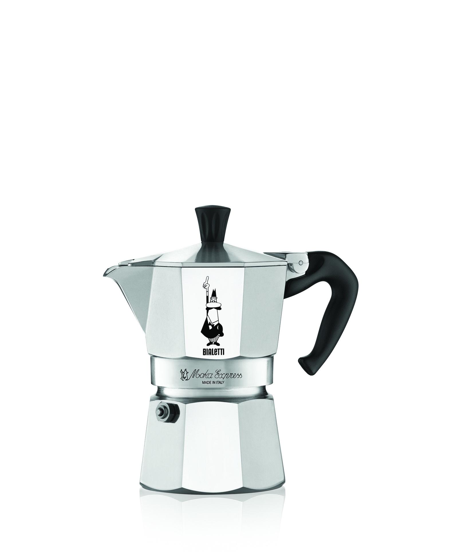 Кофеварка гейзерная Bialetti Moka Express, на 9 порций, 540 мл гейзерная кофеварка bialetti moka induzione 6 порций 4833