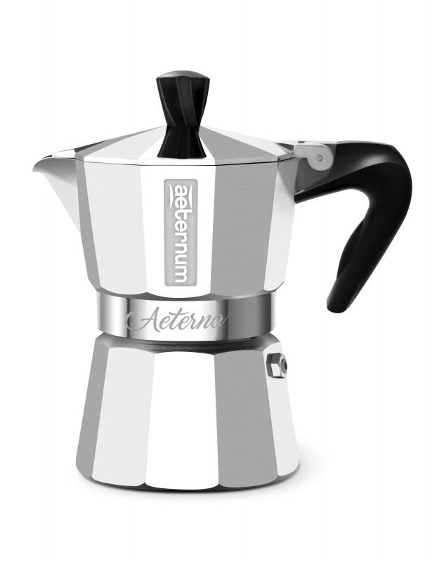 Гейзерная кофеварка Bialetti Aeternum Aetern, Алюминий, Пластик