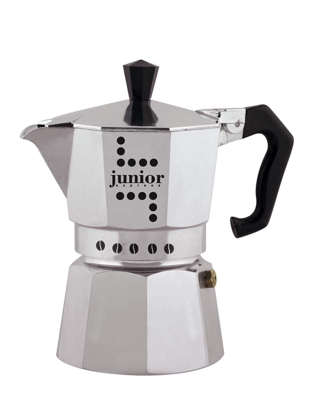 Кофеварка гейзерная Junior, на 3 порции кофеварка гейзерная bialetti fiametta 3 порции алюминий 4632