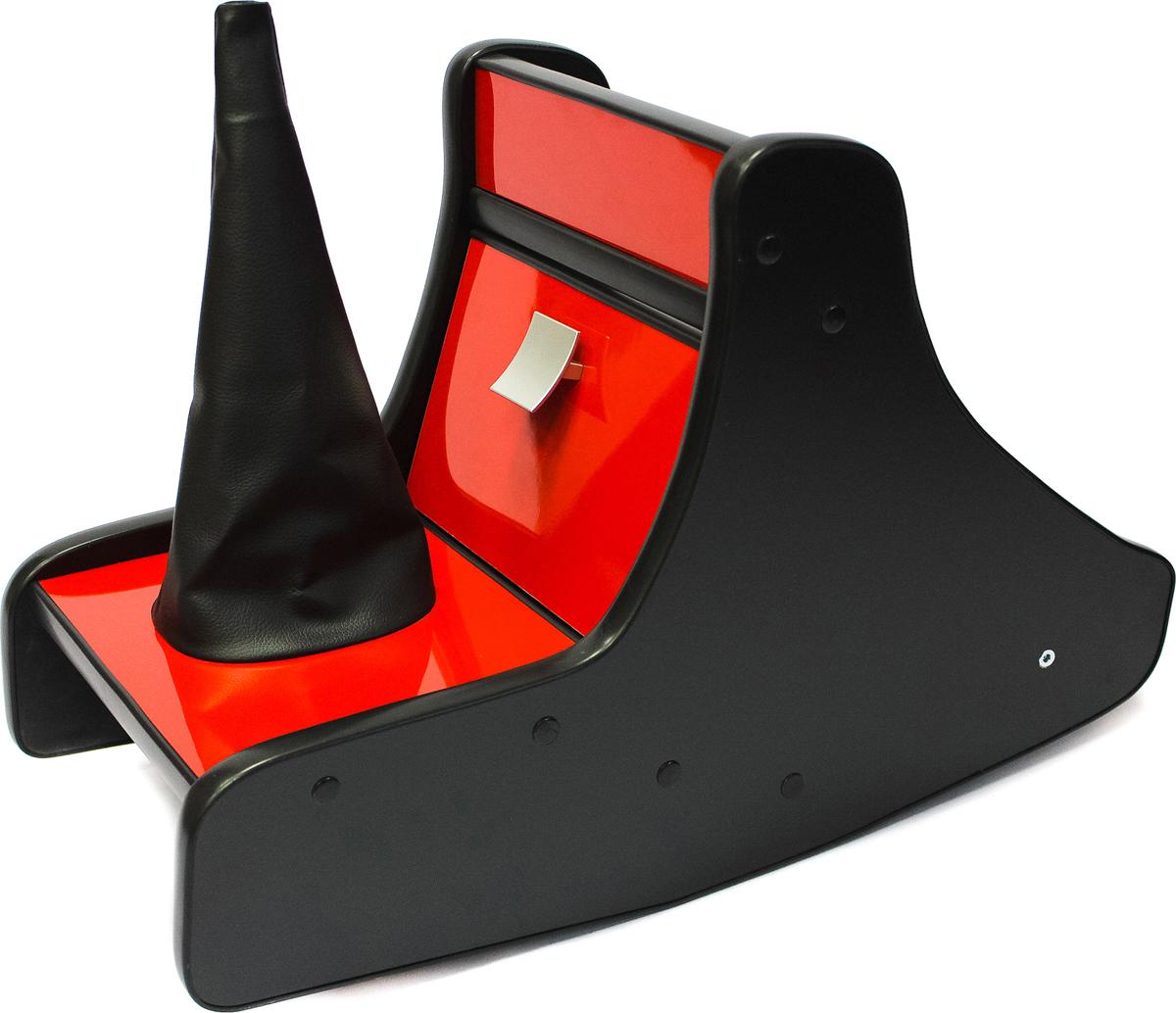 Консоль в авто АвтоБлюз для ГАЗель NEXT, ГР02776, глянец красный противоугонные средства авто