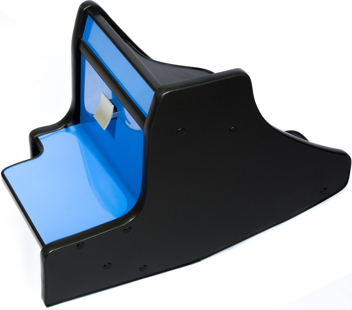 Фото - Консоль в авто АвтоБлюз для ГАЗель NEXT, ГР02806, ручка КПП на панели , глянец синий авто