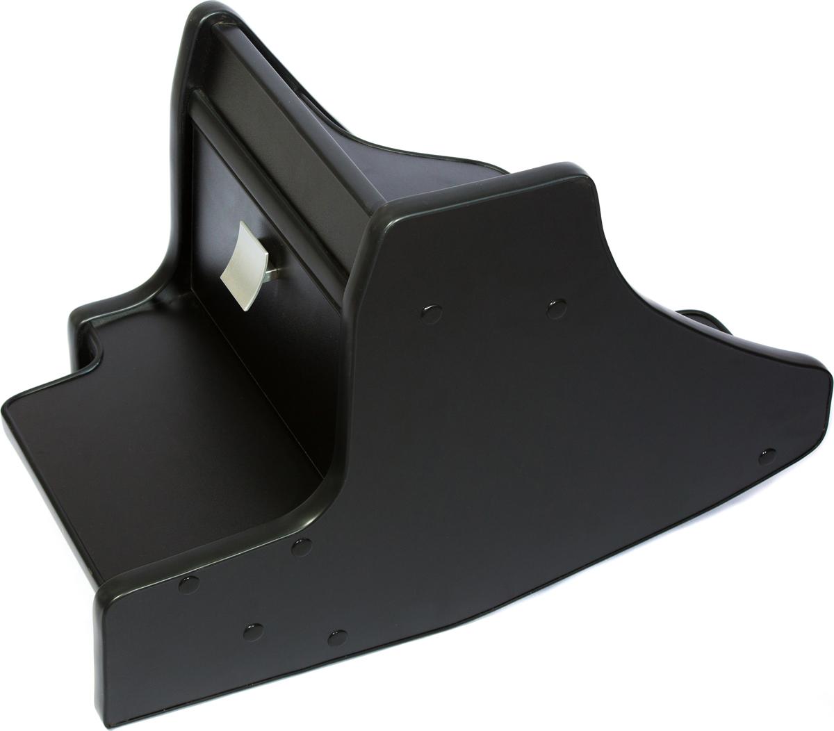 Консоль в авто АвтоБлюз для ГАЗель NEXT, ГР02811, ручка КПП на панели , черный