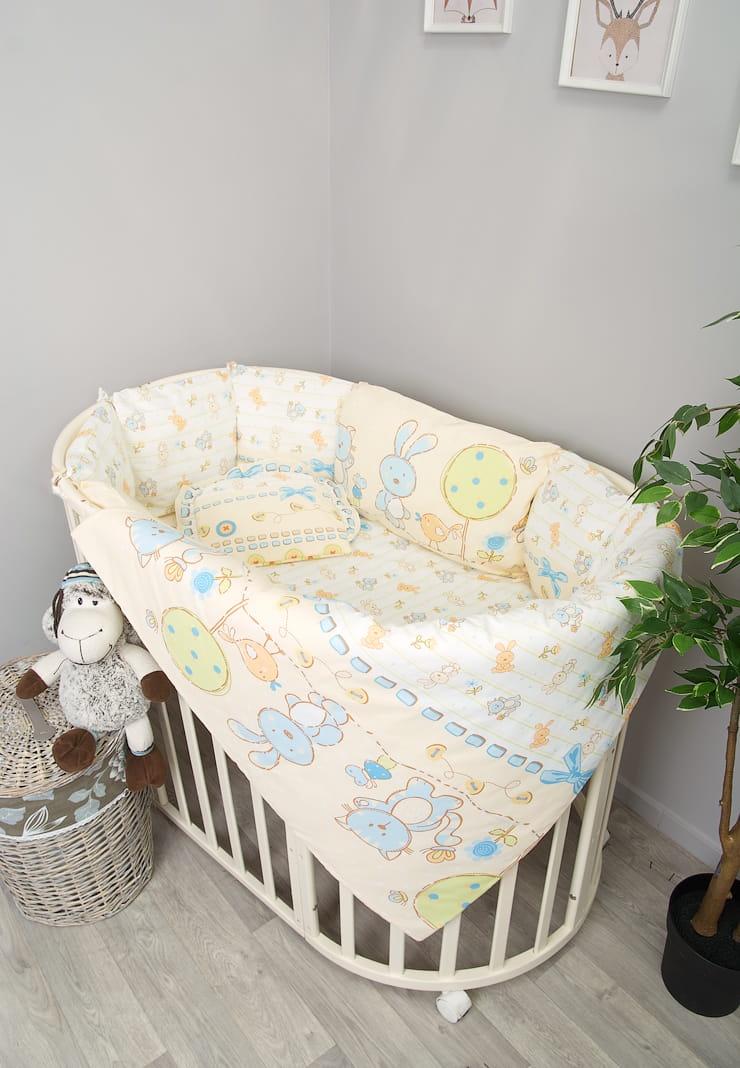 цена на Детский комплект белья Сонный гномикАкварель, 406-10_1, голубой
