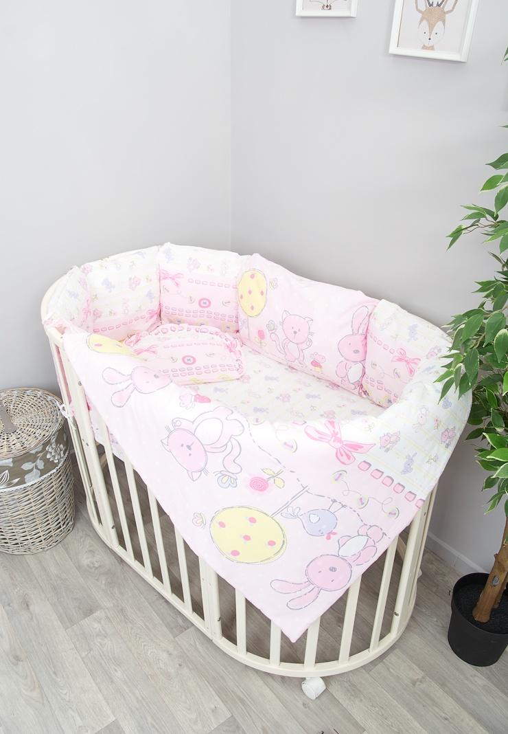 цена на Детский комплект белья Сонный гномикАкварель, 406-10_2, розовый