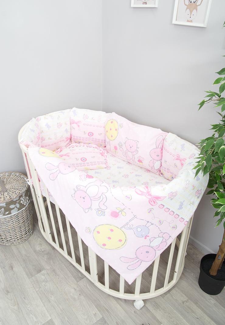 Детский комплект белья Сонный гномикАкварель, 606-10/2, розовый одеяло vikalex бязь холлофайбер 110х140 серый с бантиками vi21104