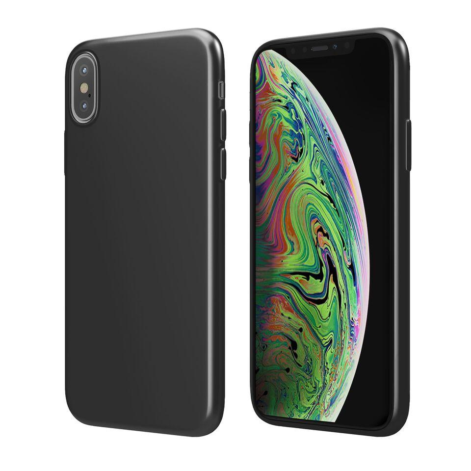 Чехол Vipe Color для Apple iPhone XS, 644-VPIPXSCOLBLK, черный чехол vipe color для apple iphone xs max 644 vpipxsmaxcolblk черный