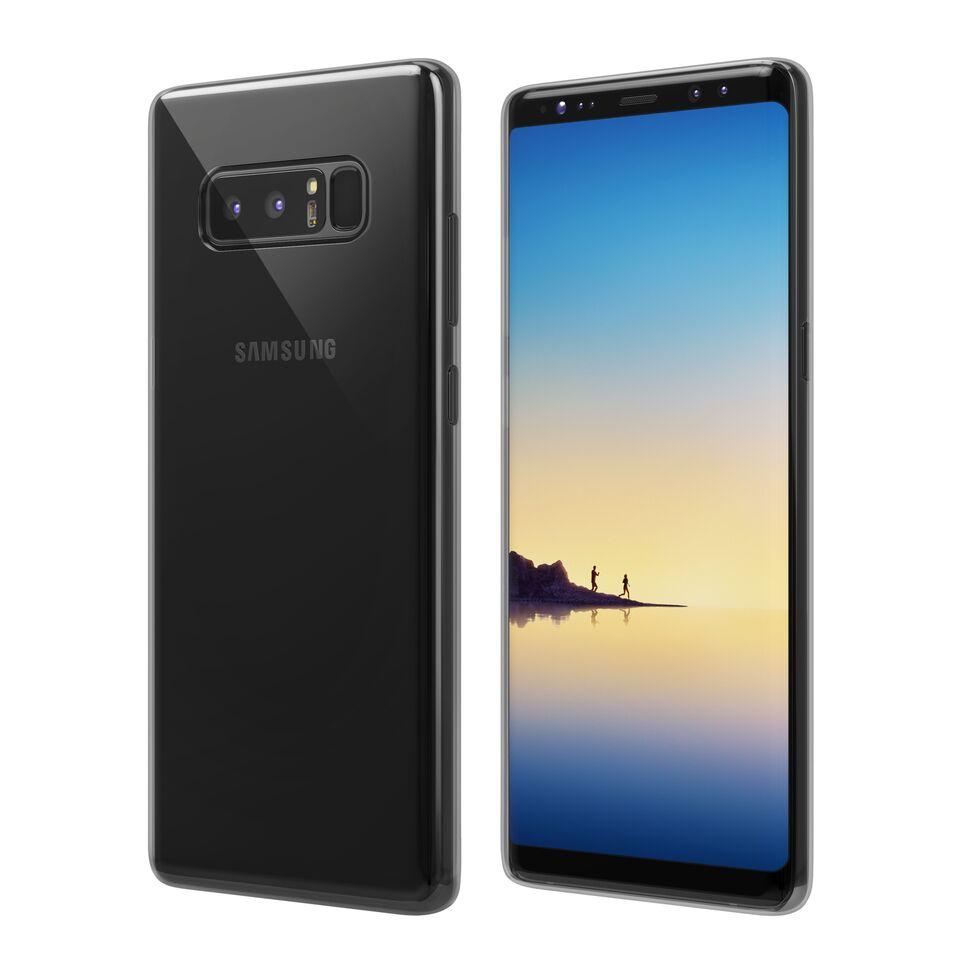 Чехол Vipe Flex для Samsung Galaxy Note 8, 644-VPSGGNOTE8FLEXTR, прозрачный vipe vipe frame для samsung galaxy a3 2017