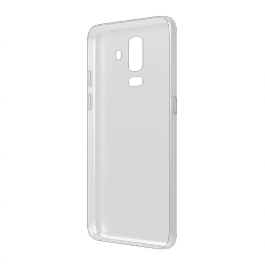 Чехол Vipe Color для Samsung Galaxy J8, 644-VPSGGJ8COLTR, прозрачный аксессуар чехол для samsung galaxy j8 2018 gurdini soft touch silicone black 907522