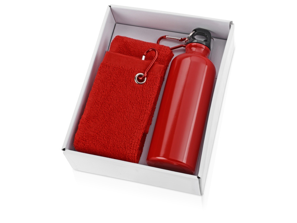 Фото Бутылка для воды Oasis Набор «Фитнес», 853201, красный