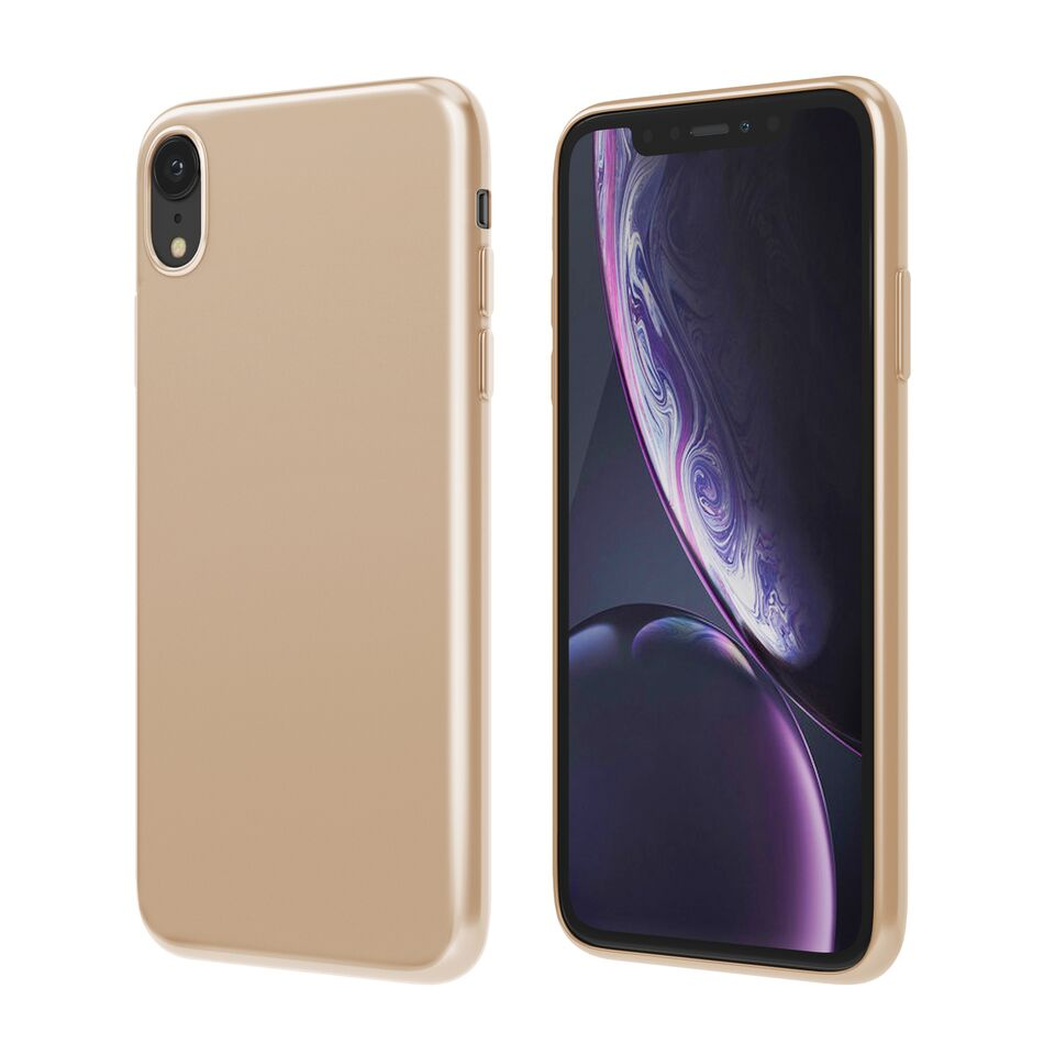 Чехол Vipe Color для Apple iPhone XR, 644-VPIPXRCOLGLD, золотой чехол vipe flex для apple iphone x 644 vpipxflexred красный