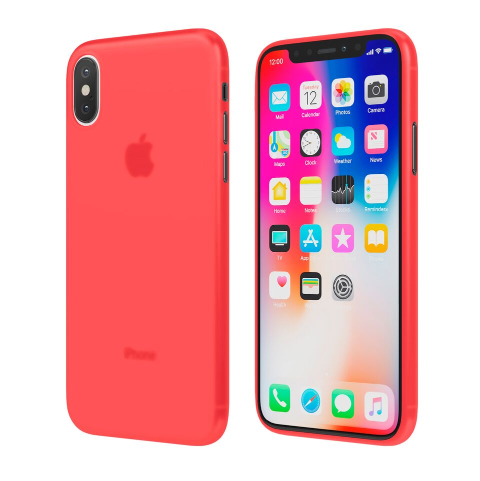 Чехол Vipe Flex для Apple iPhone X, 644-VPIPXFLEXRED, красный чехол vipe flex для apple iphone x 644 vpipxflexred красный