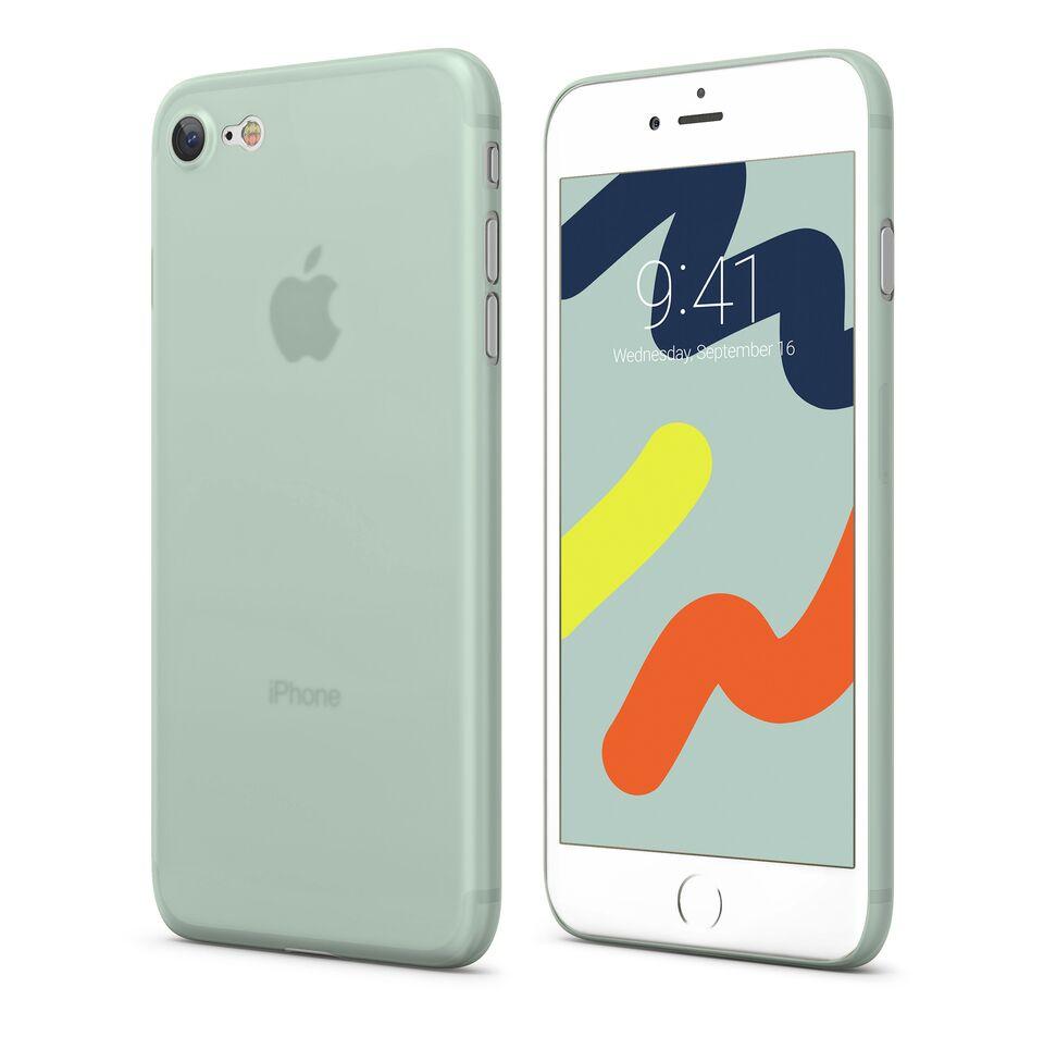 цена Чехол Vipe Wispy для Apple iPhone 7/8, 644-VPIP7WISPYSKY, небесно-голубой онлайн в 2017 году