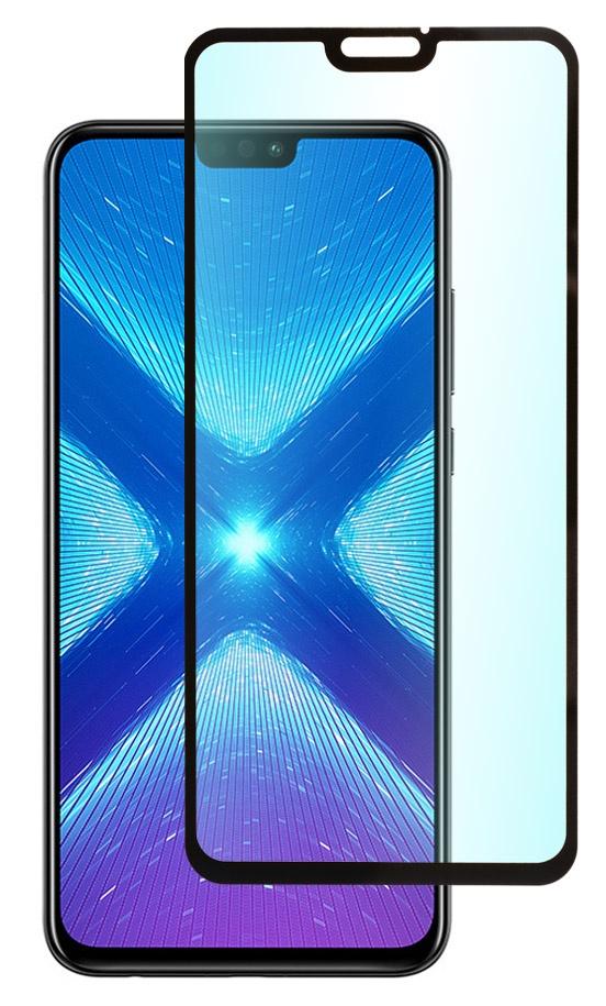 Защитное стекло SkinBOX, для Huawei Honor 8X, 4630042522411, черный защитное стекло skinbox для huawei honor 8x 4630042522411 черный