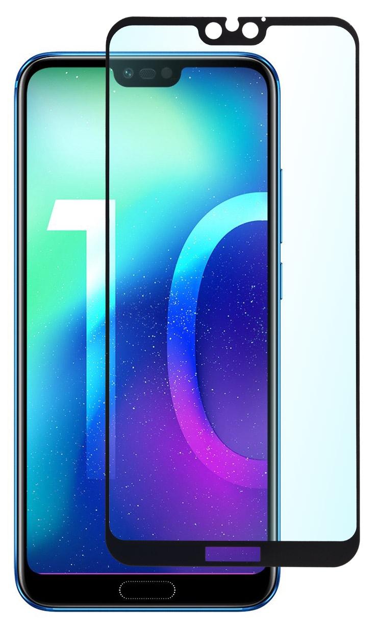 Защитное стекло SkinBOX, для Huawei Honor 10 Lite, 4630042522398, черный