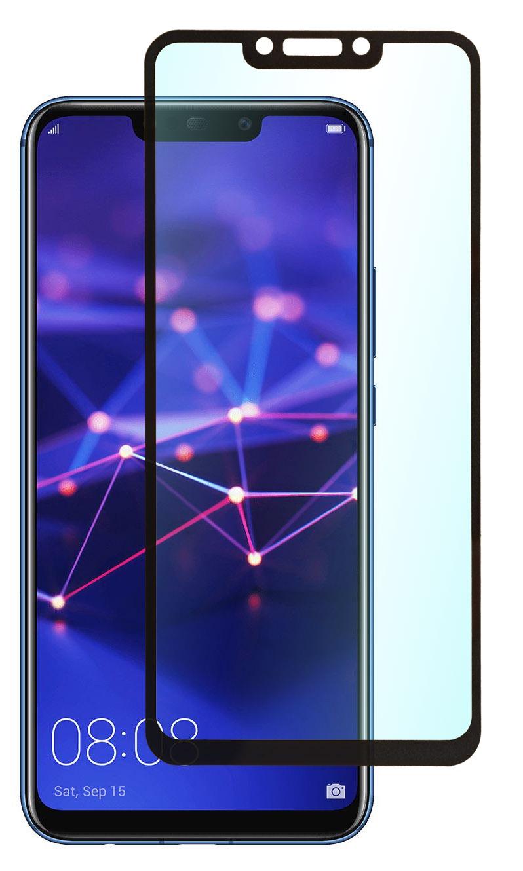 Защитное стекло SkinBOX, для Huawei Mate 20 Lite, 4630042522459, черный смартфон huawei mate 20 lite 64 гб черный 51092qtt