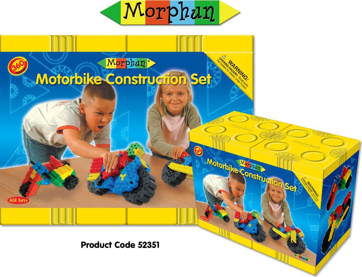 """Пластиковый конструктор Morphun """"Мотоциклы Motorbike Construction Set"""", 52351"""