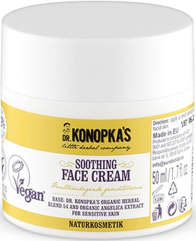 Dr.Konopka's / Крем для лица смягчающий, 50 мл