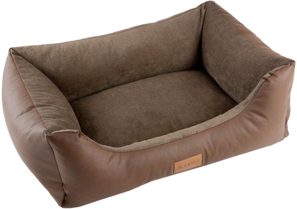 Лежак для животных Katsu Sofa Skaj, 70375, светло-коричневый, 80 х 60 х 25 см