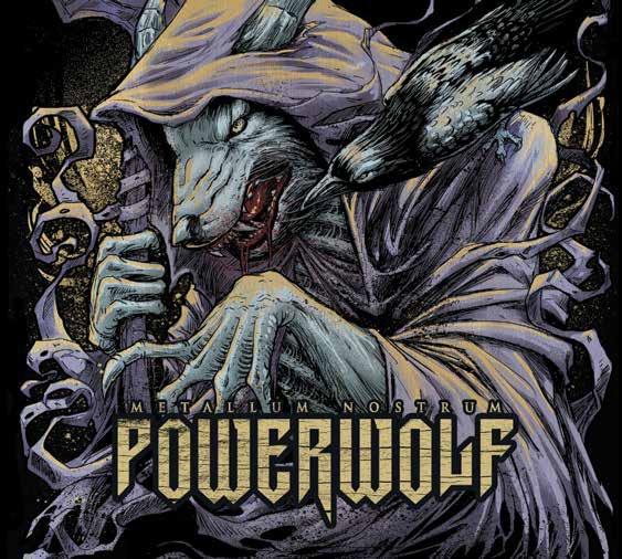 Powerwolf Metallum Nostrum. POWERWOLF powerwolf leipzig