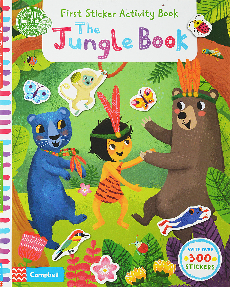 The Jungle Book: First Sticker Activity Book the jungle book