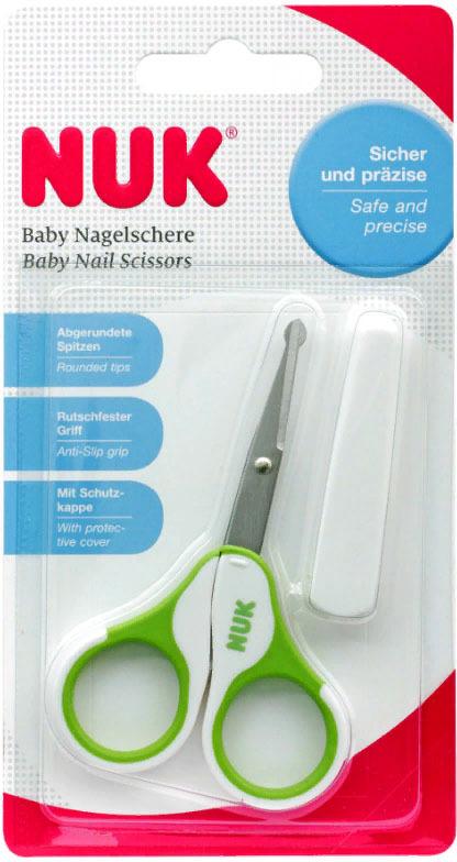 Детские ножницы NUK, от 0 месяцев, 10256257-Зеленый