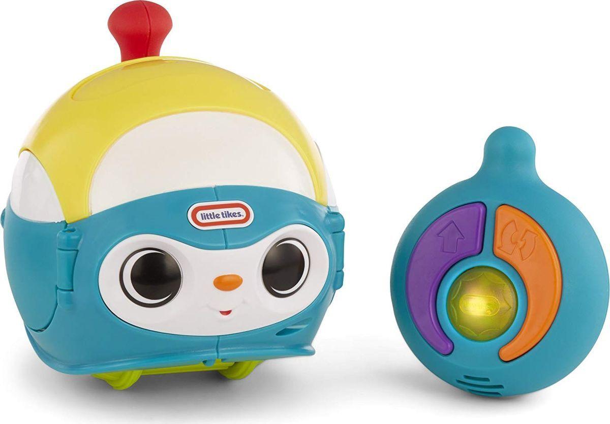 Игрушечный робот Little Tikes Вращающийся робот, 647529E4C (647529), голубой игрушка фонарик little tikes панда цвет черный белый