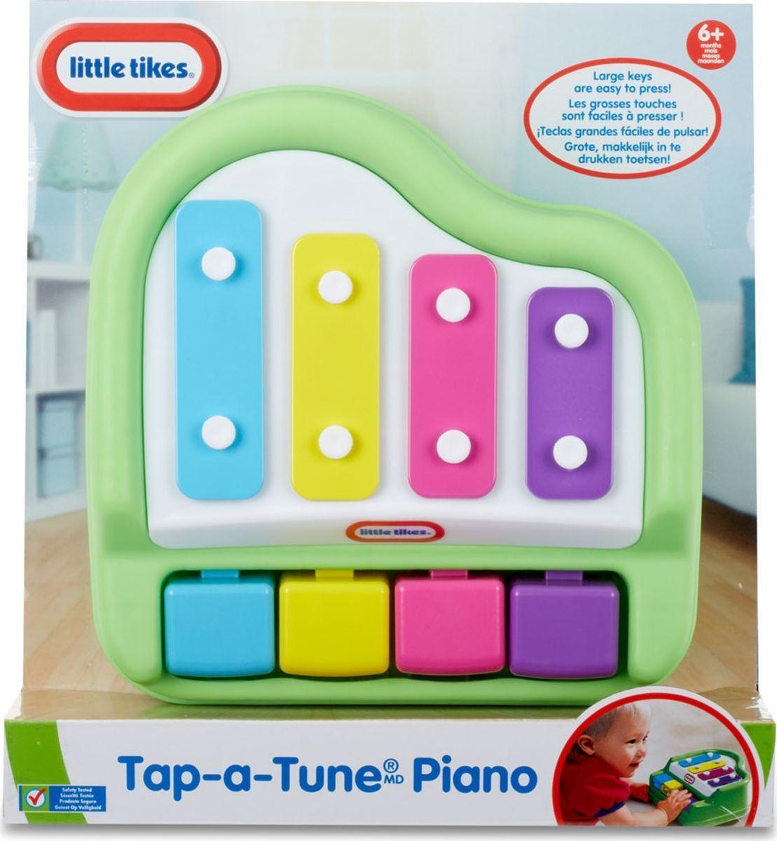 Музыкальная игрушка Little Tikes Пианино, 642999E4C игрушка фонарик little tikes панда цвет черный белый