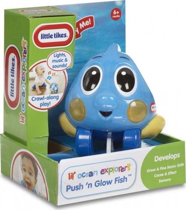 Игрушка-каталка Little Tikes Исследователь океана, 639722E4C, голубой игрушка фонарик little tikes панда цвет черный белый