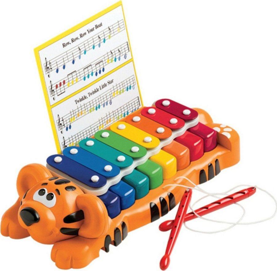 Развивающая игрушка Little Tikes Веселый тигр, 629877MP игрушка фонарик little tikes панда цвет черный белый