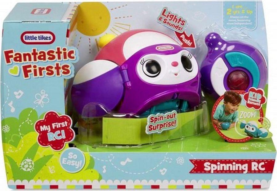 Игрушечный робот Little Tikes Вращающийся робот, 647536E4C (647536), розовый игрушка фонарик little tikes панда цвет черный белый