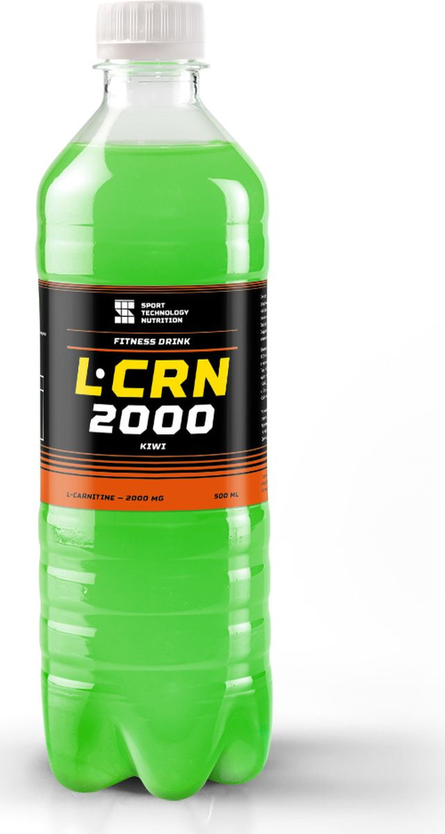 L-карнитин Sport Technology Nutrition 2000, киви, 500 мл карнитин sport victory nutrition premium l carnitine 3200 киви 1 л