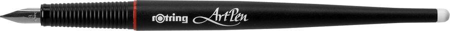 Ручка перьевая Rotring ArtPen Lettering B, R250101, 0,5 мм, цвет корпуса черный, цвет чернил синий