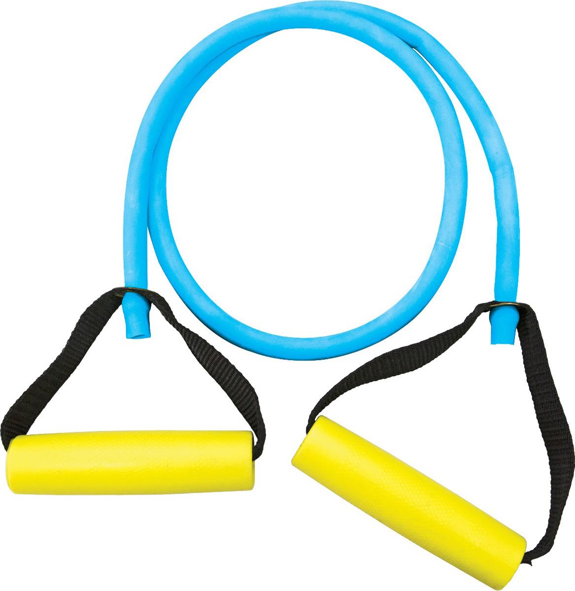 Эспандер Absolute Champion Т-2, 4690337034180, синий, для груди, 1 м эспандер absolute champion с разборной ручкой