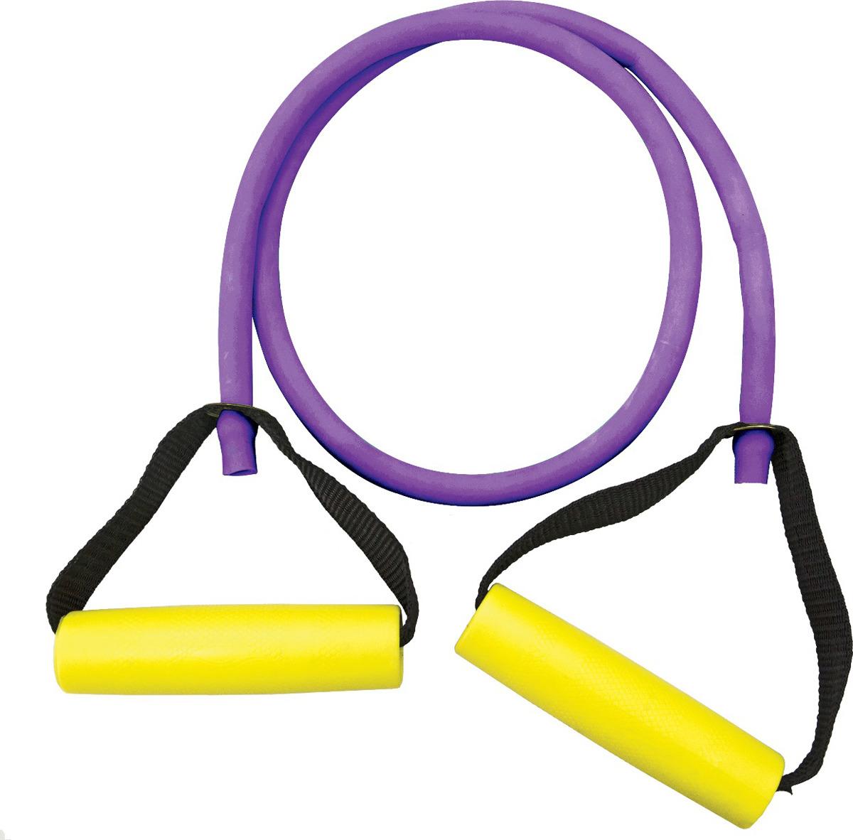 Эспандер Absolute Champion Т-2, 4690337034197, фиолетовый, для груди, 1 м эспандер absolute champion с разборной ручкой