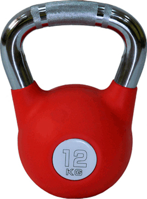 Гиря Absolute Champion, 490337005852, красный, 12 кг детский спортивный комплекс absolute champion самолет салатово красный