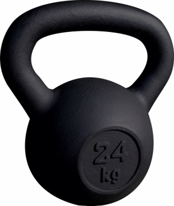 Гиря Absolute Champion Евро, 4690337036559, черный, 24 кг трицепс precor dsl208