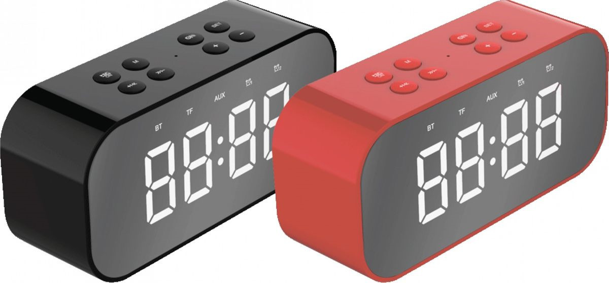Портативная акустическая система Harper PS-030, H00002180, red портативная колонка harper ps 030 red беспроводная акустика 5 вт 175 20000 гц bluetooth 4 0 microsd