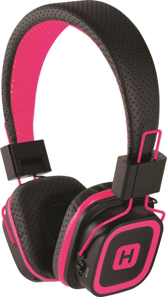 Беспроводные наушники Harper HB-311, черный, розовый