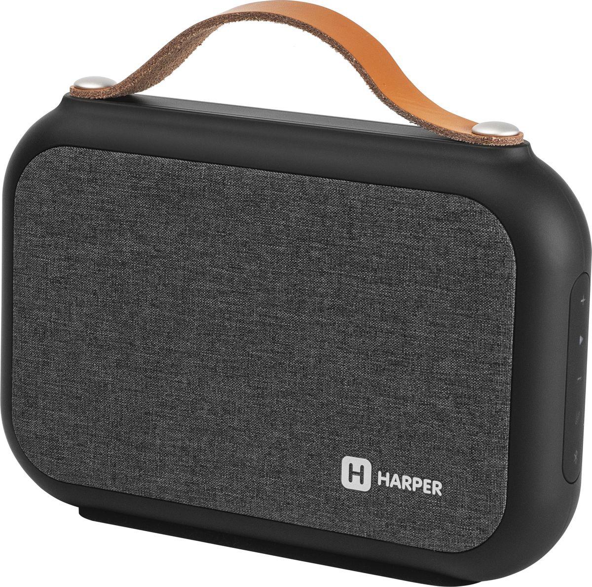 Портативная акустическая система Harper PSPB-220, H00002115, black