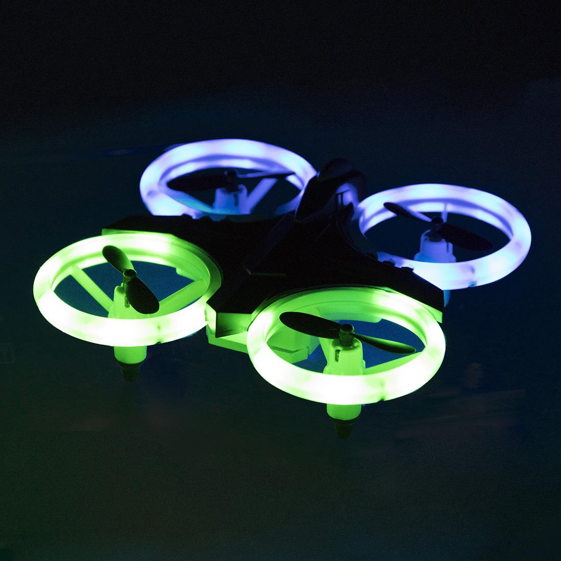 Квадрокоптер радиоуправляемый От винта! Night Drone, 870349, черный От винта!