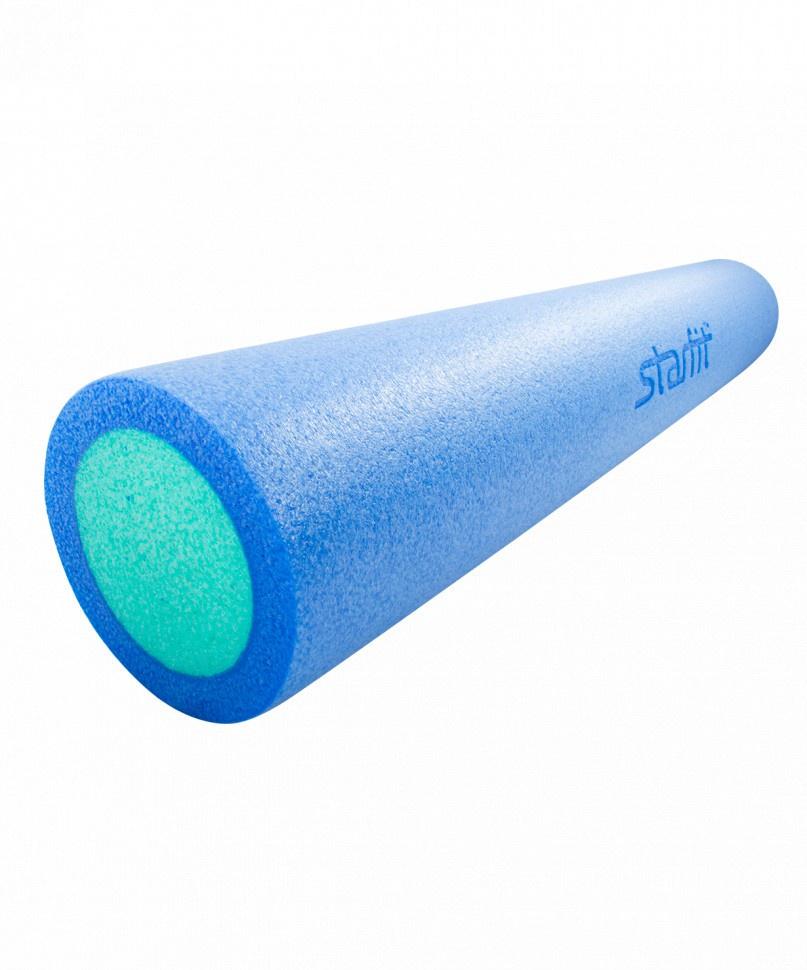 Ролик для пресса Starfit Ролик для йоги и пилатеса FA-502, 15х90 см, синий/голубой ролик для йоги и пилатеса starfit fa 506 цвет зеленый 15 х 15 х 90 см