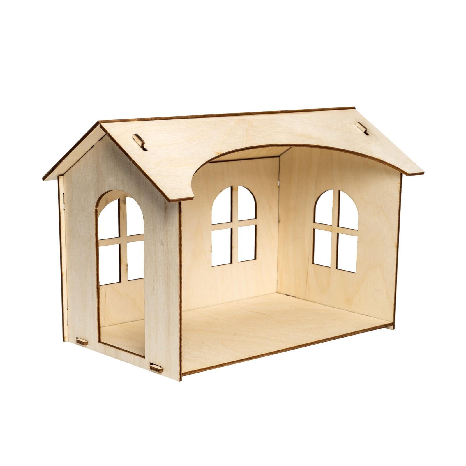 Дом для кукол Iq Format для кукол LOL набор мебели игрушечный форма спальня