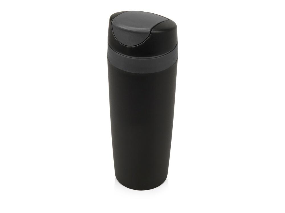 Термокружка Oasis Лайт, термокружка пластиковая, 840307, черный